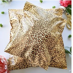 Other - 30 10x13 Leopard polymailers + 36 thank yo…